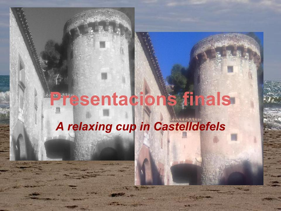 Presentacions finals