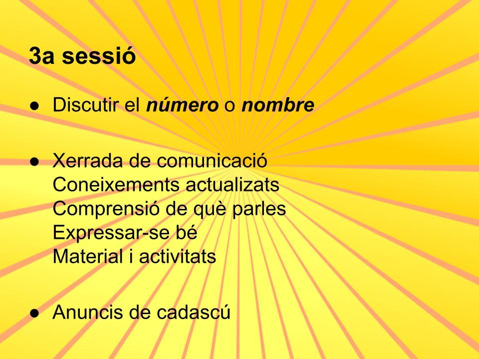 Una sessió en 21 paraules (4)