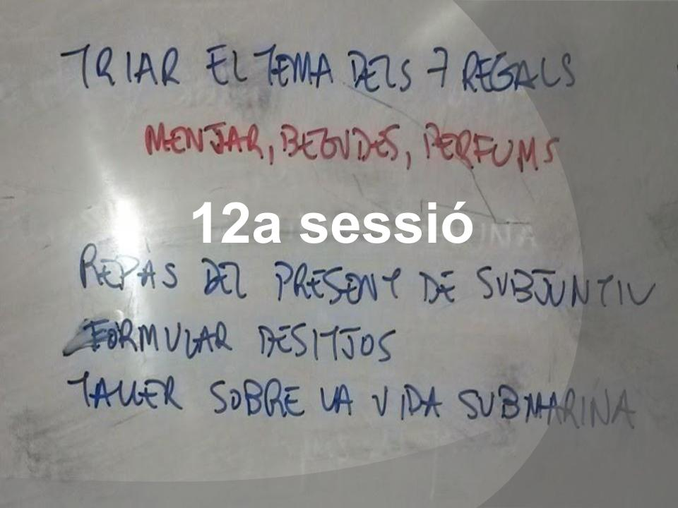 Una sessió en 21 paraules (12)