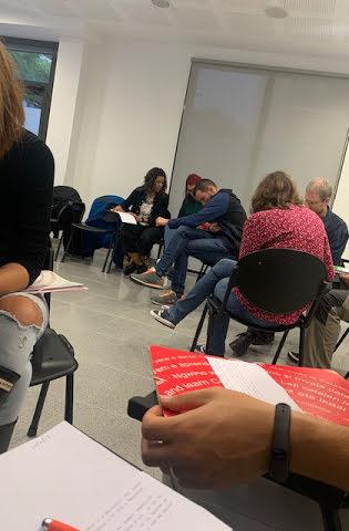 Grups per revisar l'informe de la sessió 5a