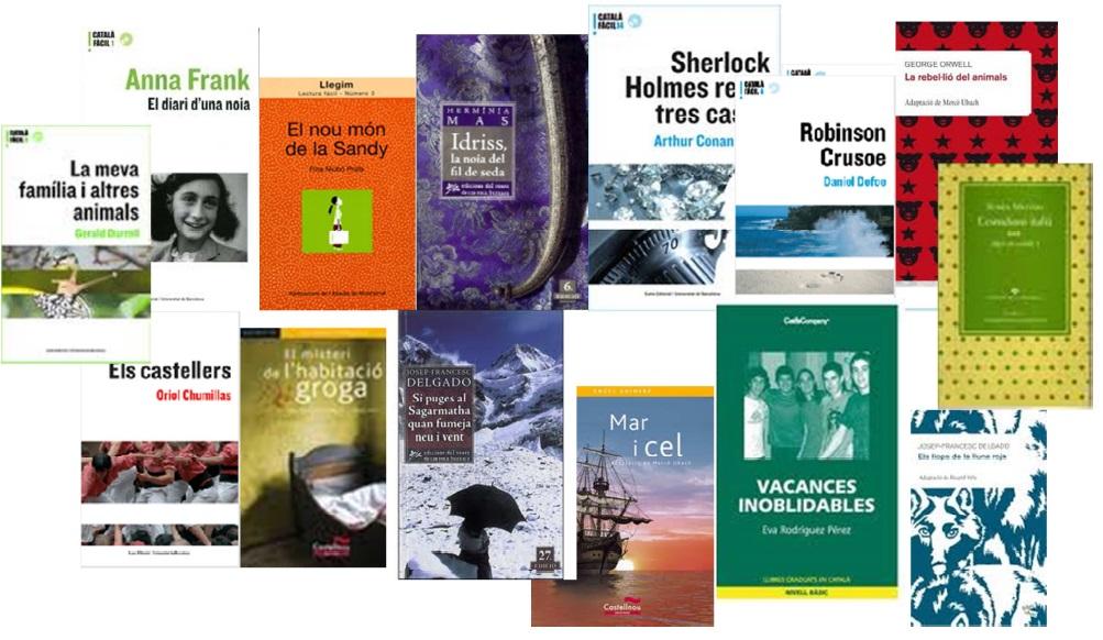 Imatge dels llibres llegits