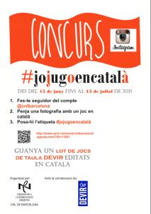 Cartell #jojugoencatalà