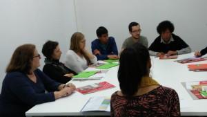 Club de lectura amb els participants de la 1a sessió