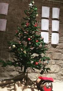 arbre de Nadal i tió