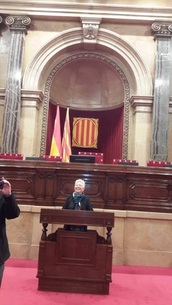 Visita al Parlament