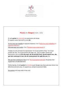 Pessics de llengua (121) 18 desembre 2015
