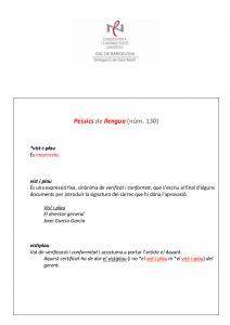 Pessics de llengua (130) 26 febrer 2016