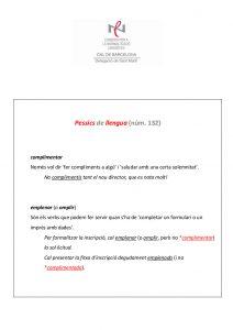 Pessics de llengua (132) 11 març 2016