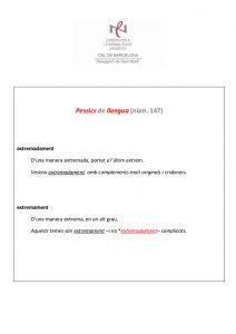 Pessics de llengua (147) 8 juliol 2016