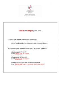 Pessics de llengua (148) 15 juliol 2016