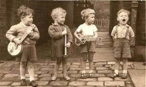 Diferents intel·ligències (nens músics)