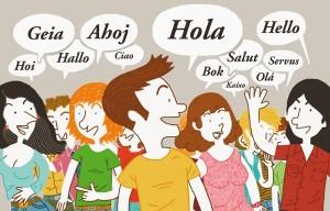Hola en diferents llengües