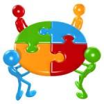 Imatge puzzle grup