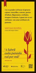 cartell 24 Santiago Rusiñol MERCERIA