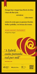 cartell 26 Joan Salvat-Papass. FLORIST