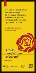 cartell 29 Jacint Verdaguer JÒQUER