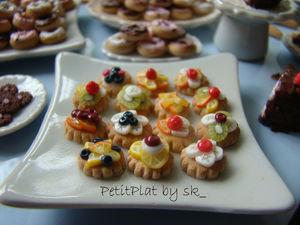 Miniature Tartelettes for Dollhouse