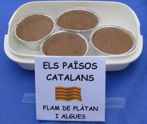 Postres · Flam de plàtan i algues · Joan Raventós Triviño_petit