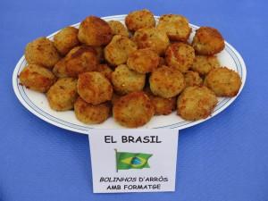 Primers i segons plats · Bolinhos de arroz com queijo · Lucyanna Ribeiro i Leite