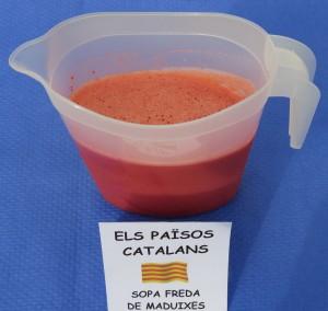 Primers i segons plats · Sopa freda de maduixes · Josefina Amezcua_curt