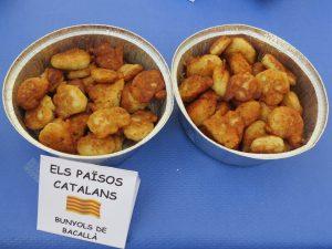 Primers i segons plats · Bunyols de bacallà · Julio Fuentes