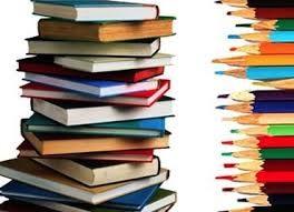 llibres i llapis